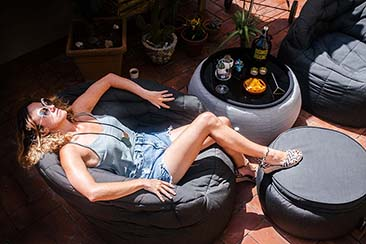 Ambient Lounge, Butterfly Sofa Outdoor Bean Bags