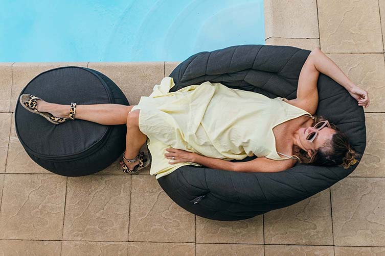 Ambient Lounge Butterfly Sofa Outdoor Bean Bag Soft Furniture Collection