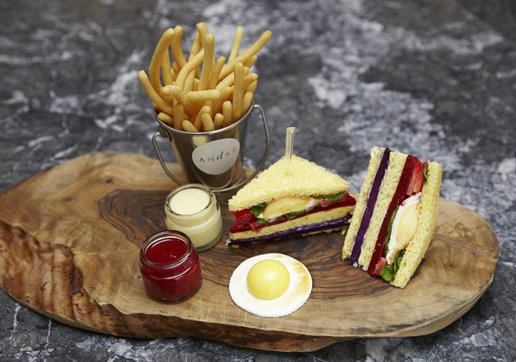 Winter Club Sandwich – Andaz