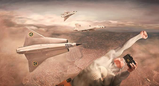 Andreas Englund, Planes