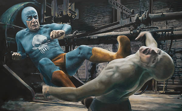 Andreas Englund, Fight