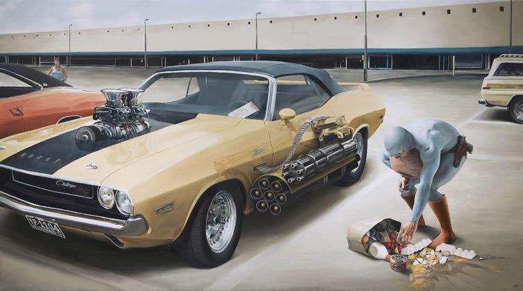 Andreas Englund: Superlife Uncut at Distinction Gallery, Escondido San Diego