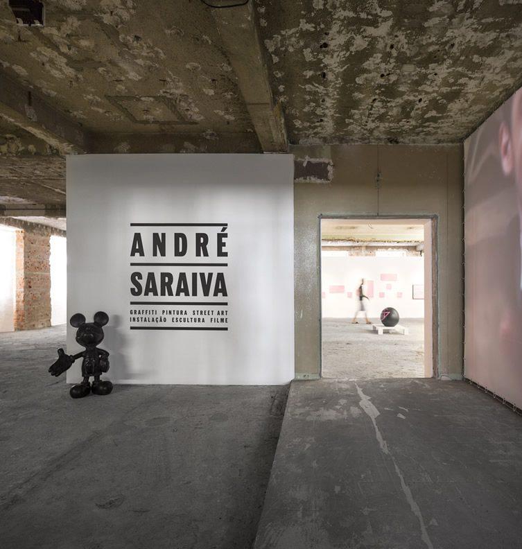 André Saraiva at MUDA, Lisbon