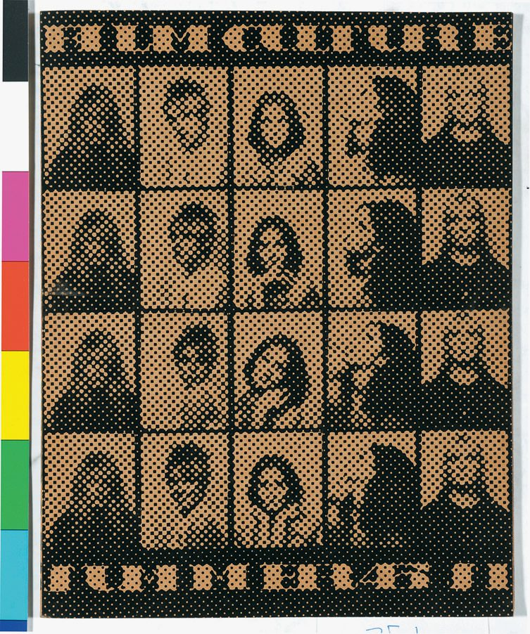 Andy Warhol Film Culture Magazine