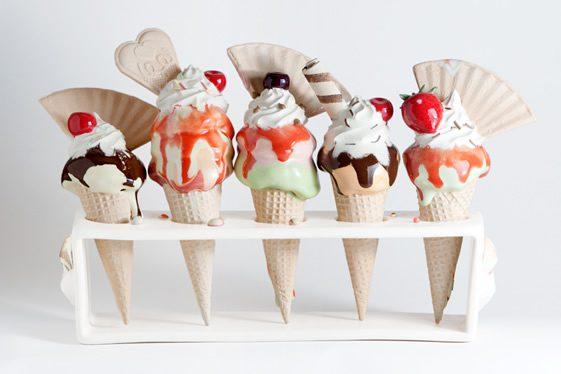 Anna Barlow Ice Cream Ceramics
