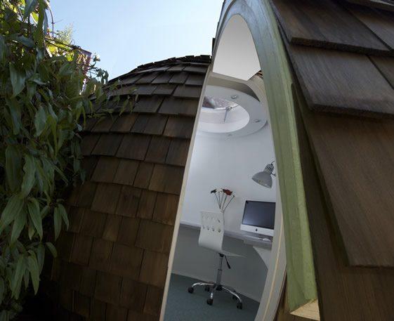 archipod2 اتاق کاری جالب برای کار در خانه