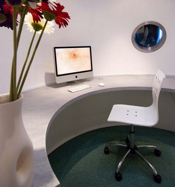 archipod3 اتاق کاری جالب برای کار در خانه