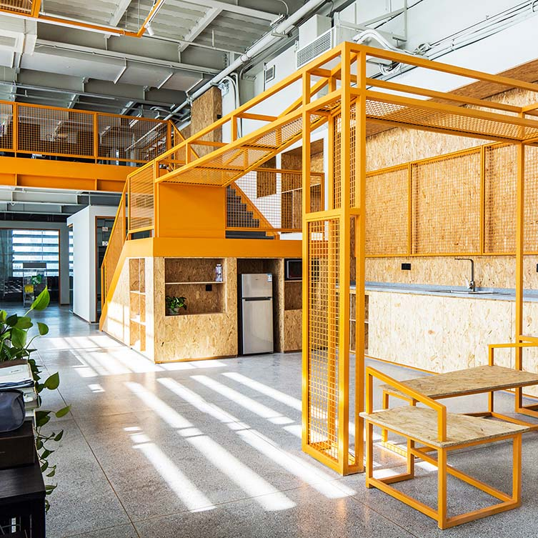 Belugadesign Office by Jing Li is Winner in Interior Space and Exhibition Design Category, 2018 - 2019.