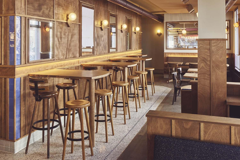 Arie Op De Hoek Amsterdam Brown Café Designed by Studio Modijefsky