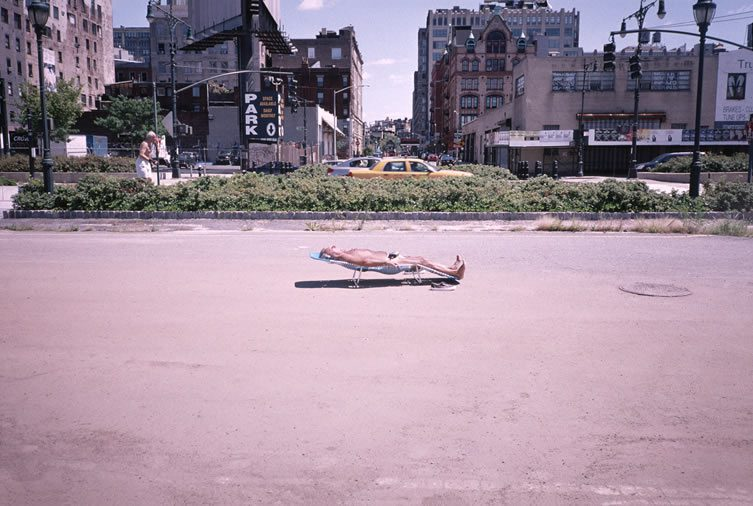 Sunbathing, West Village, NY, 2006