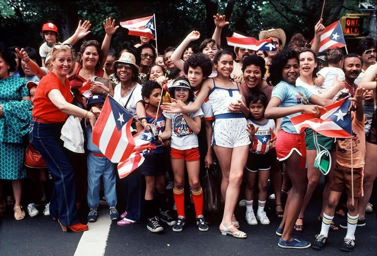 Puerto Rican Day Parade, from the book Bacalaitos & Fireworks