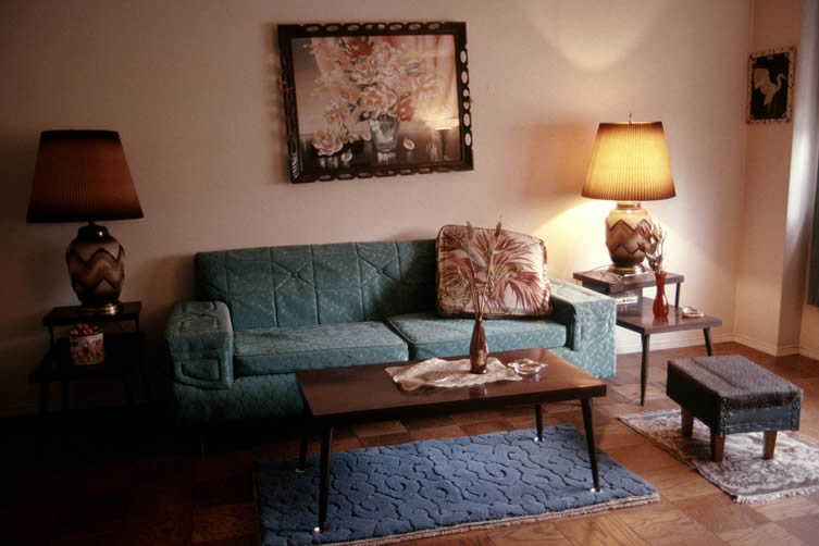 Bubbie's Living Room, from the book Mommie