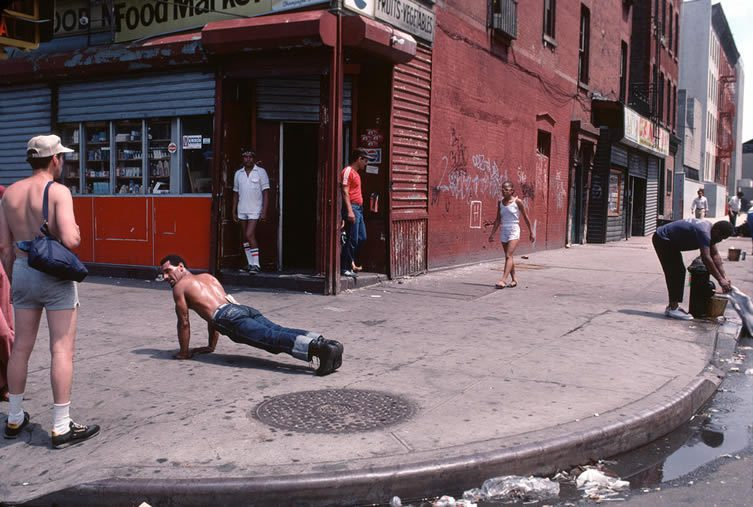 Push Ups El Barrio, from the book Bacalaitos & Fireworks