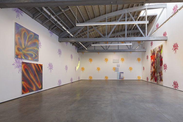 John Armleder, Stéphane Kropf, John Tremblay at David Kordansky Gallery, Los Angeles