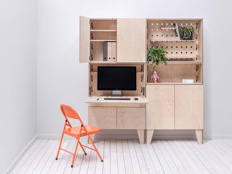 Arnie.M, a Modular Home Workspace, Manchester Design Studio Mr.M ideas studio Ltd