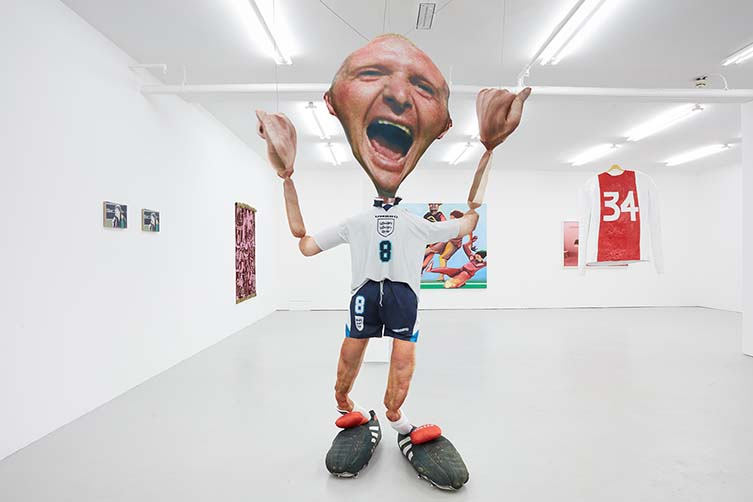 Installation views, ULTRA Art for the Women's World Cup