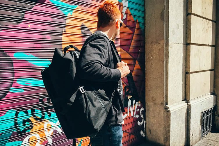 Artichoke Travel Backpack by Artichoke Bags: Your Closet in a Bag