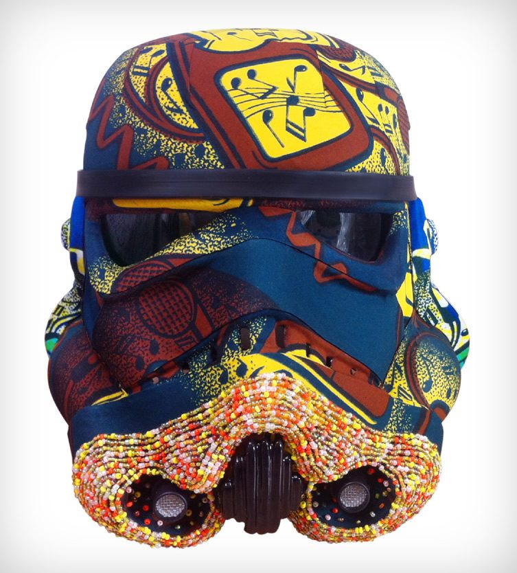 Art Wars — Stormtrooper Helmets as Art
