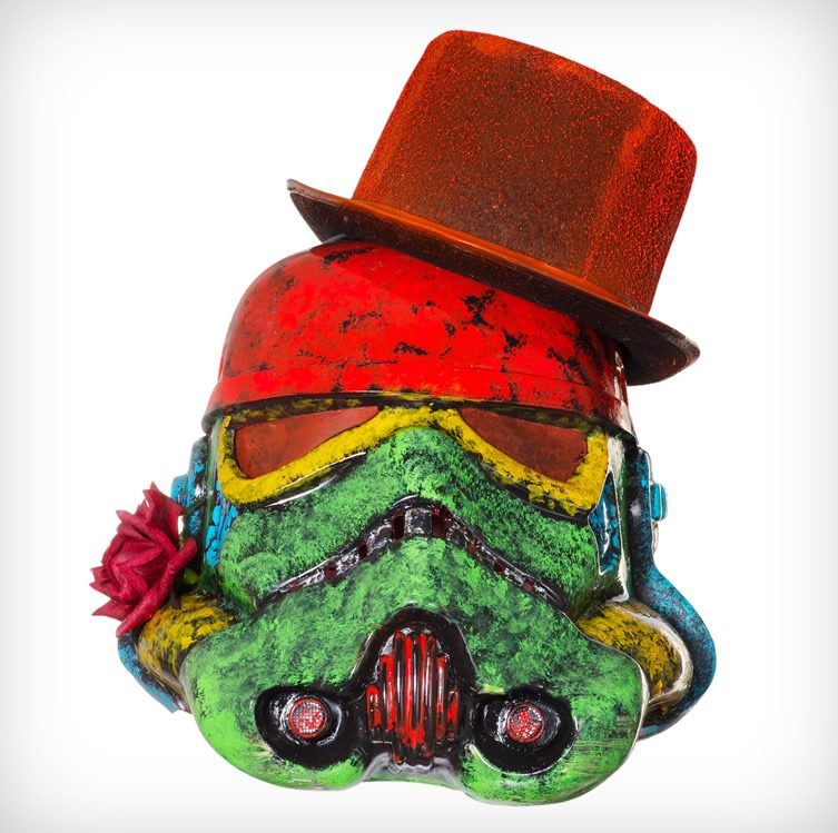 Art Wars — Stormtrooper Helmets as Art