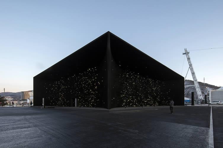 Asif Khan Hyundai Pavilion PyeongChang