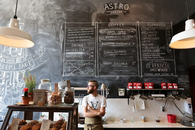 Astro Coffee, Detroit