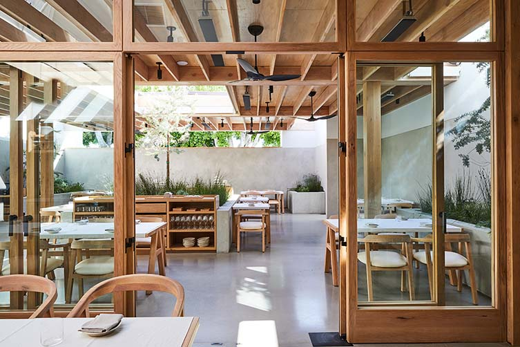 Auburn Los Angeles, Melrose Ave Restaurant by Chef Eric Bost