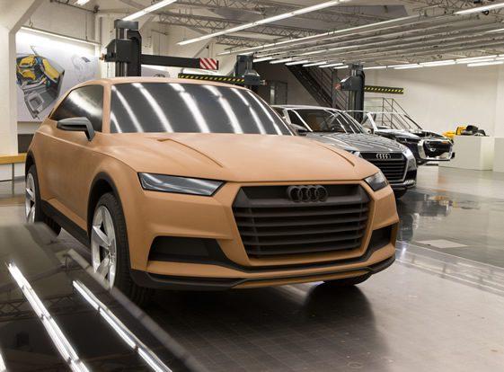 Inside Audi's Concept Design Studio