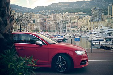 Audi A3 Cabriolet and S3 Saloon Launch, Monaco