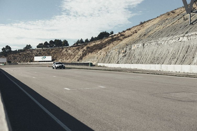 Parcmotor race track, Castellolí Audi automated driving