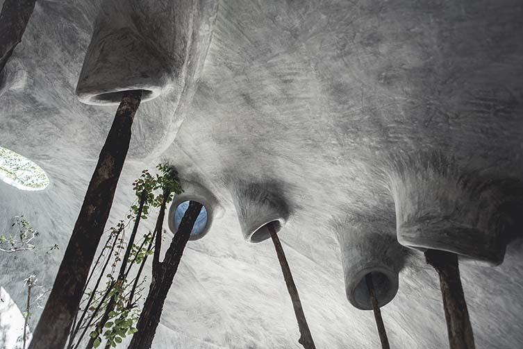 AZULIK Uh May Creative Research Project, Tulum, Yucatan Peninsula Arts Centre