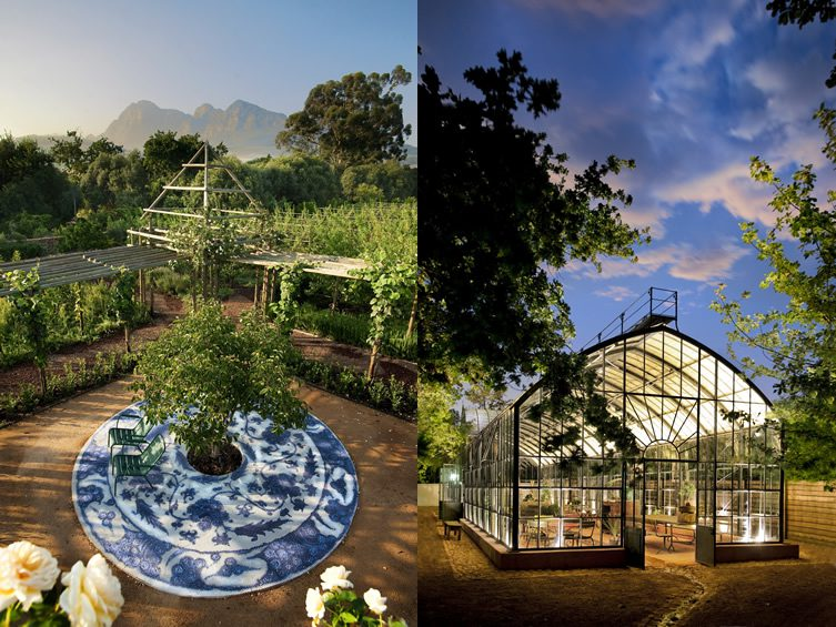 Babylonstoren valley, Cape Town
