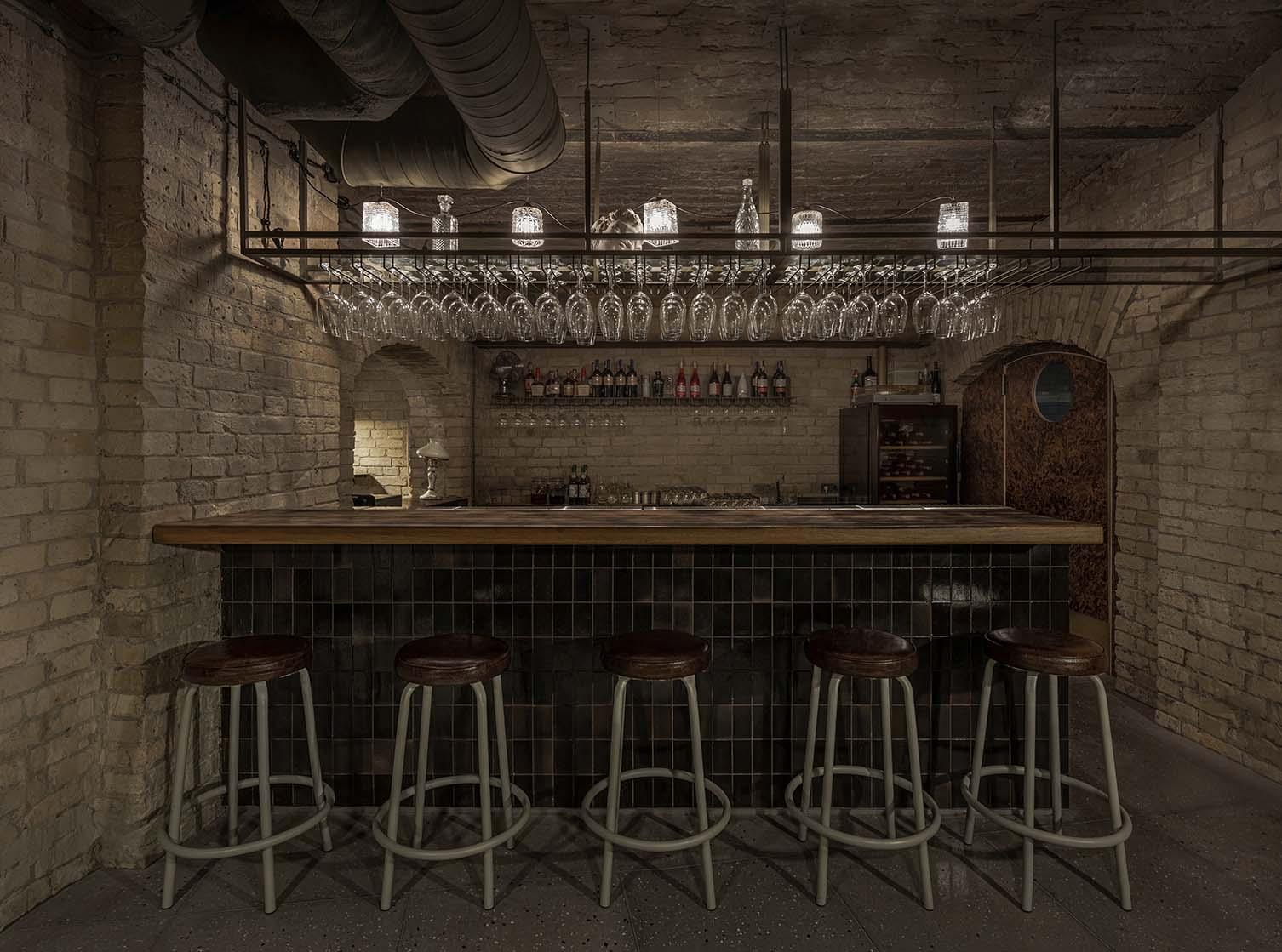 Balthazar Kiev, Besarabka, Besarabsky Market Restaurant and Wine Bar by Rina Lovko