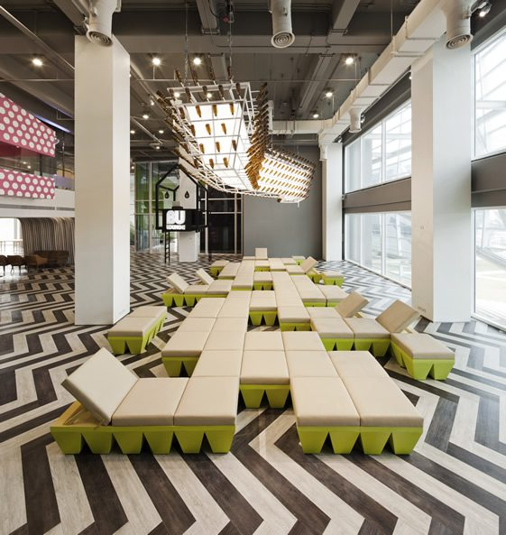 Bangkok University's BU Lounge