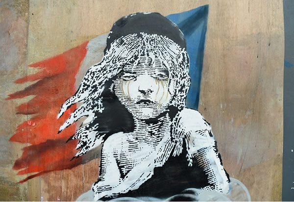 Banksy Opposite the French Embassy, Knightsbridge