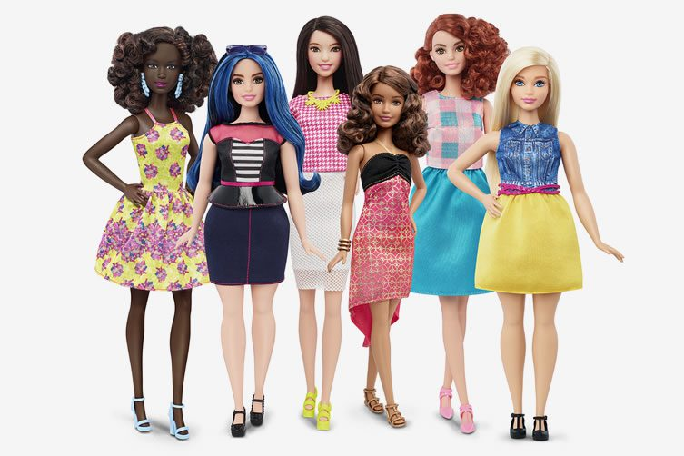 Barbie's New Body Shapes