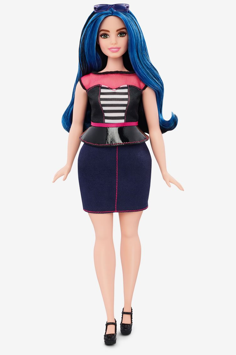 Barbie new body sizes