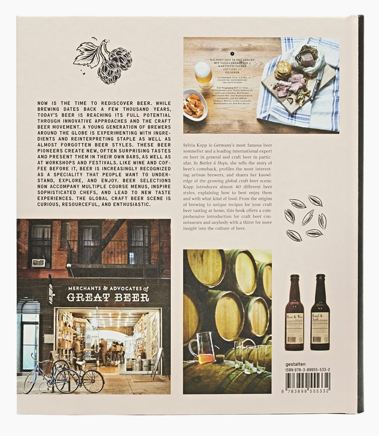Barley & Hops: The Craft Beer Book by Gestalten