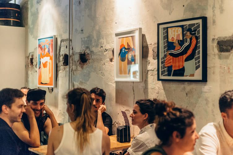 Caña Magazine, Beer Culture at Garage Beer Co., Barcelona