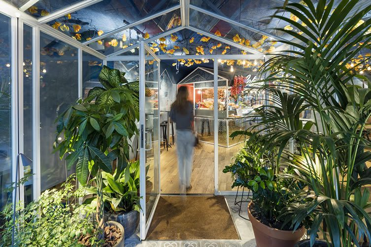 Bellavista del jard n del norte barcelona messi restaurant for Barcelona jardin