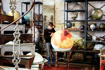Bellerby & Co. Globemakers London, Studio Visit