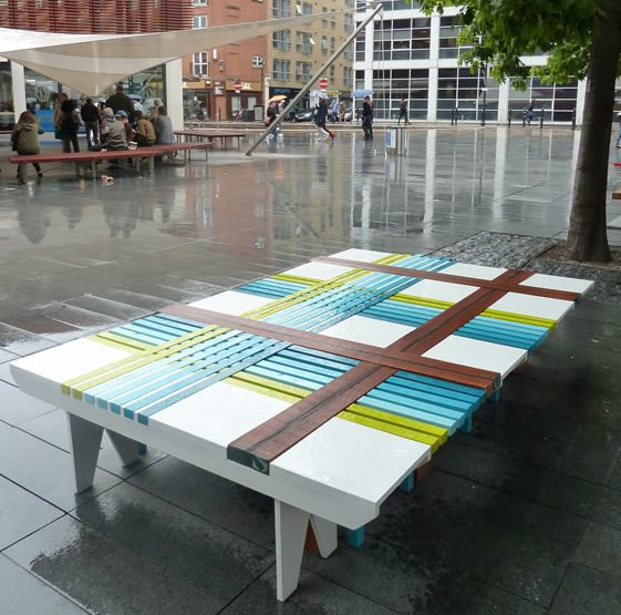 LDF10: Bench 10, by The Lollipop Shoppe