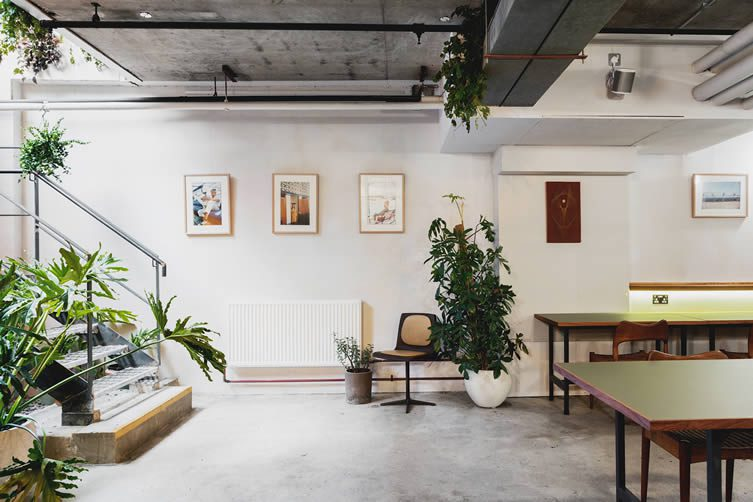 Benk + Bo London, Multifunctional Creative Space Spitalfields by Antony Burger and Mariell Lind Hansen