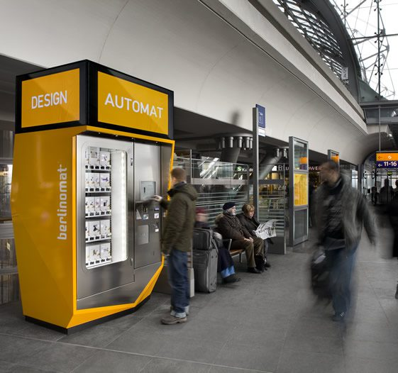 Berlinomat's Design Vending Machine