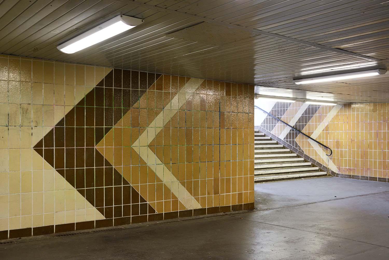 Berlin U-Bahn Architecture and Design Map: COTTBUSSER PLATZ