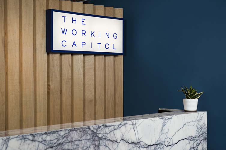 Best Cowork Space Design: The Working Capitol, Singapore