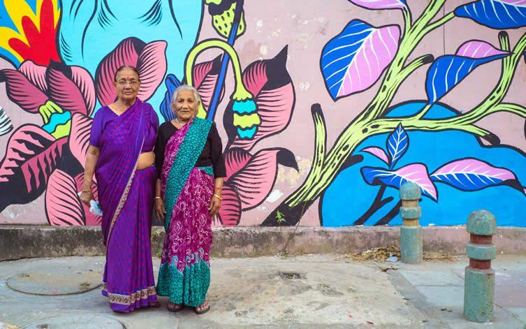 Bicicleta Sem Freio Street Art India