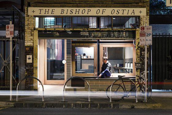 The Bishop of Ostia, Melbourne