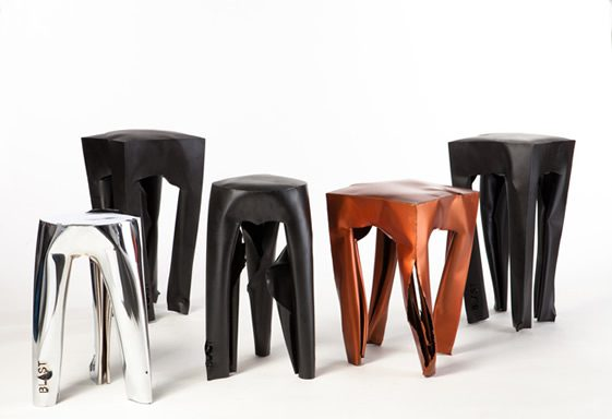 Blast Chairs by Guy Mishaly