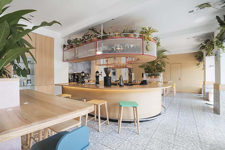 Blend Station II, Mexico City, La Roma Third Wave Coffee Shop Designed by Futura