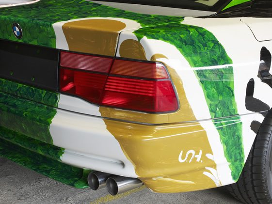 BMW Art Car Collection, London